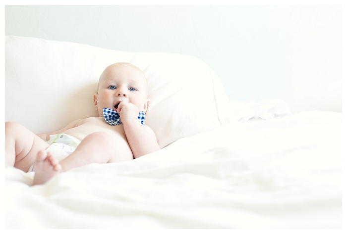 six month old baby photography