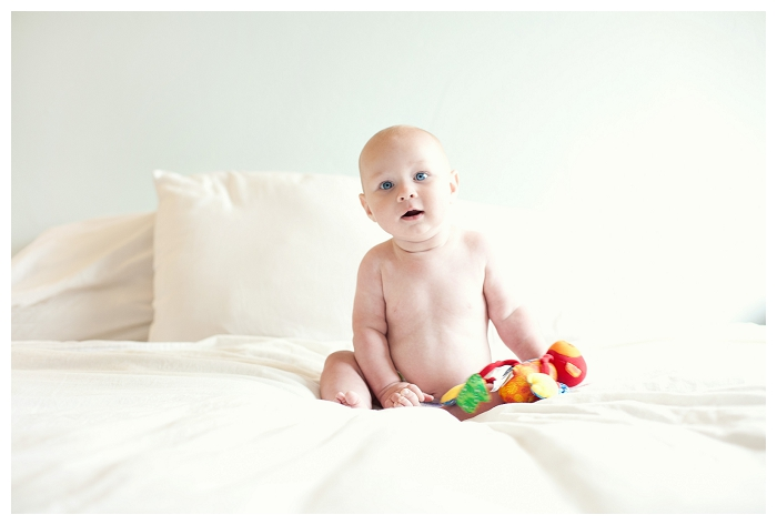 baby photography in your home